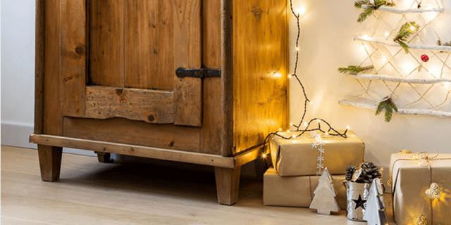 Albero di Natale salvaspazio, anche in formato mini