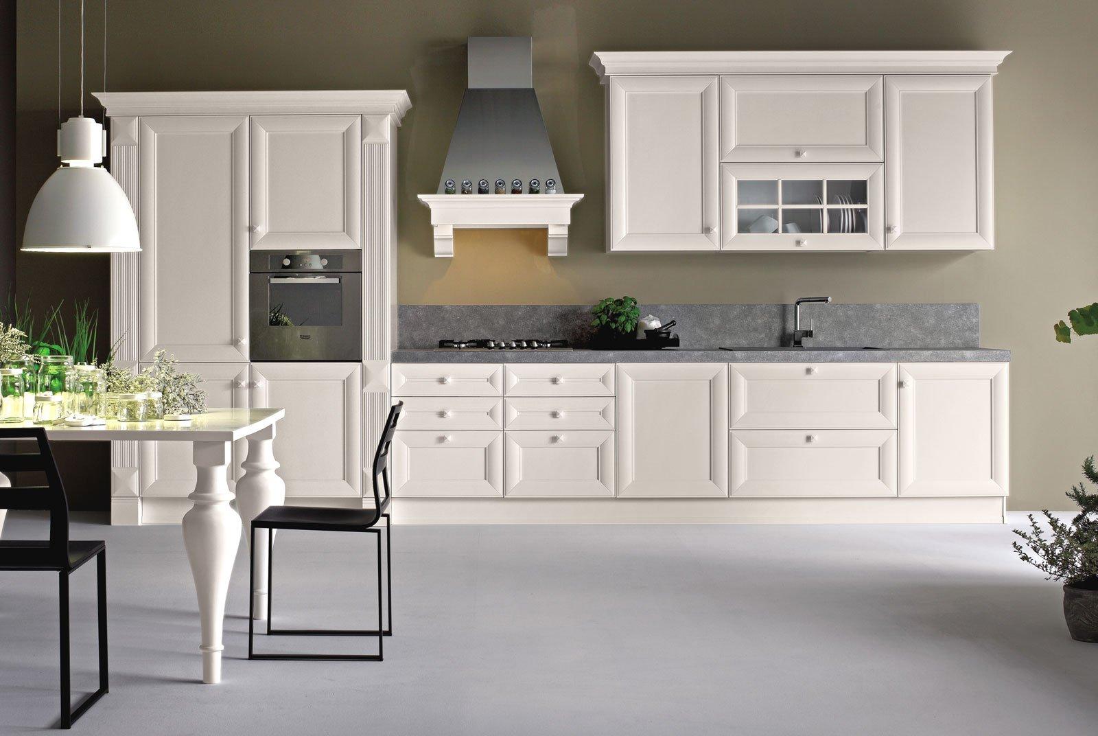 Cucina bianca il fascino eterno della luminosit cose for Cucina classica bianca