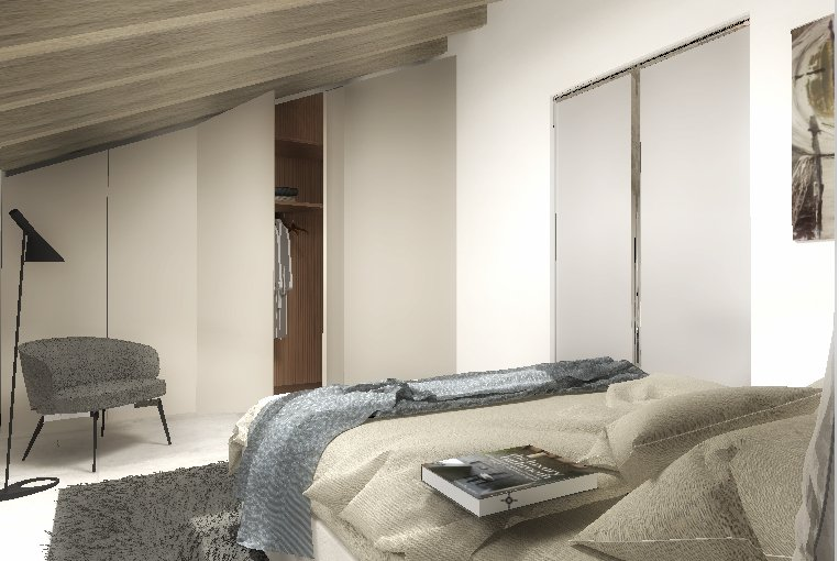 Arredare la mansarda progetto in 3d cose di casa for Arredare casa in 3d gratis