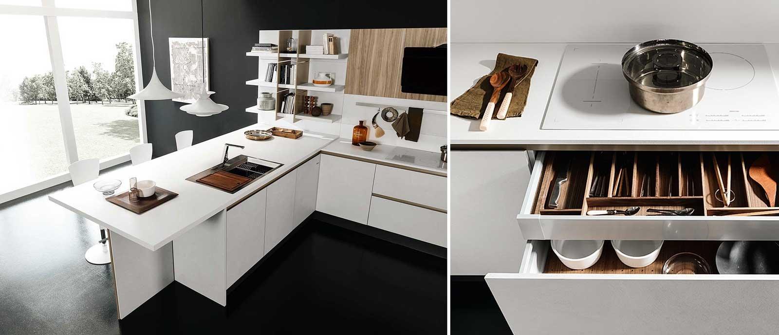 Stunning Cassetti Scorrevoli Cucina Images - Acomo.us - acomo.us