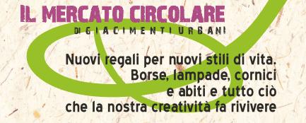Al Mercato Circolare di Giacimenti Urbani sostenibilità e riuso sono protagonisti. A Milano fino a domenica, in Cascina Cuccagna.