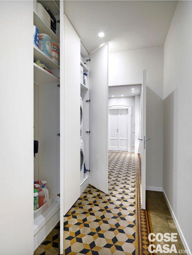 140 mq una casa con pavimenti originari in parquet e - Mobili da ripostiglio ...