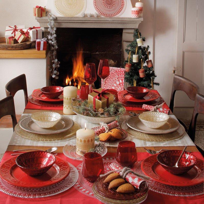 Apparecchiare bene per una colazione natalizia cose di for Tovaglie natalizie ikea