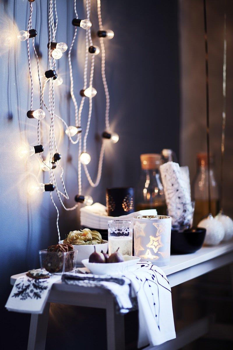 Segnaposto Natalizi Ikea.Ikea Luci E Addobbi Per Il Natale Cose Di Casa