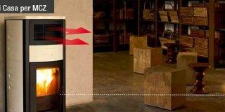 Sostituire il riscaldamento autonomo con stufa o caminetto a pellet