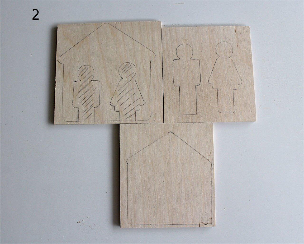 Il portachiavi in legno da parete cose di casa - Portachiavi da parete ...