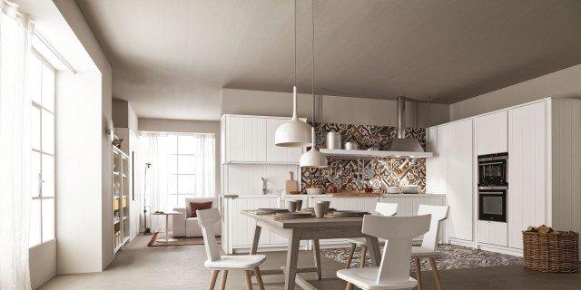 Cucina bianca: il fascino eterno della luminosità
