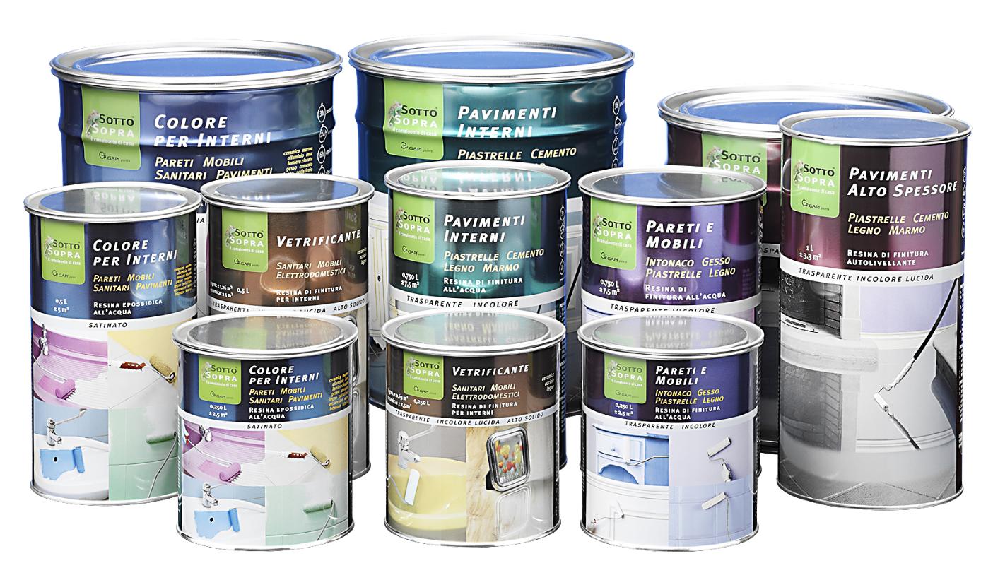 Pitturare le piastrelle: bagno e cucina diventano come nuovi ...
