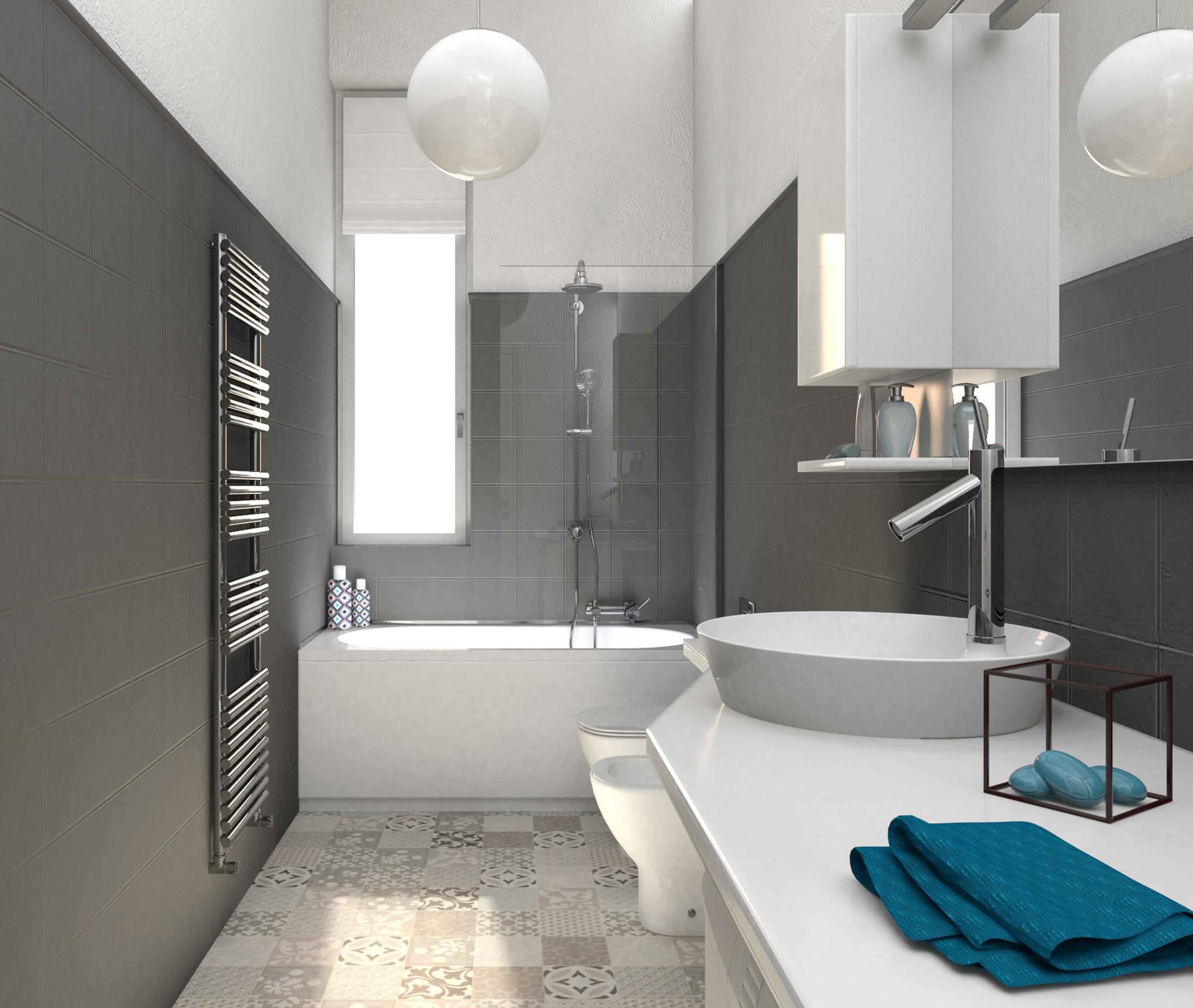 Relooking un progetto da copiare per rinnovare il bagno - Pitturare piastrelle bagno ...