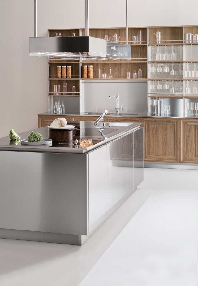 Piano di lavoro in cucina: materiali e caratteristiche ...