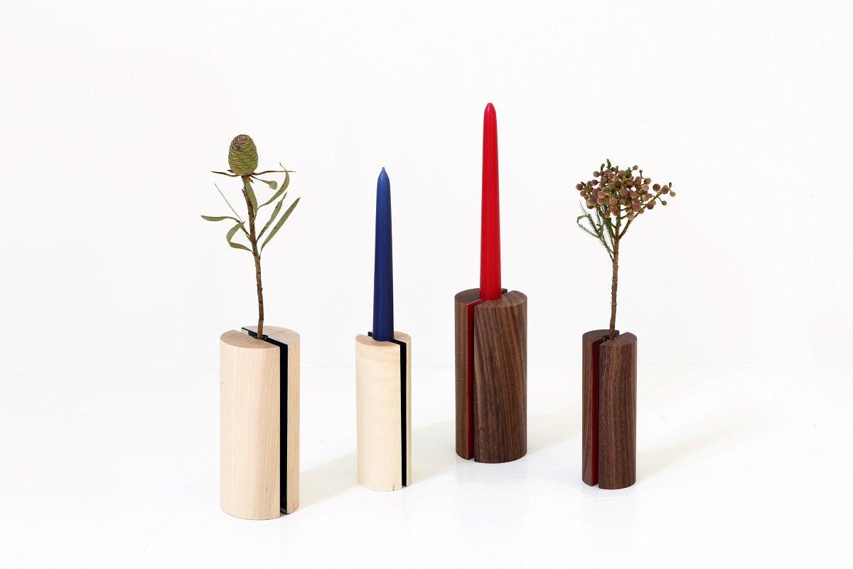 Portacandele Da Giardino : Komorebi vaso e portacandele di piero lissoni cose di casa