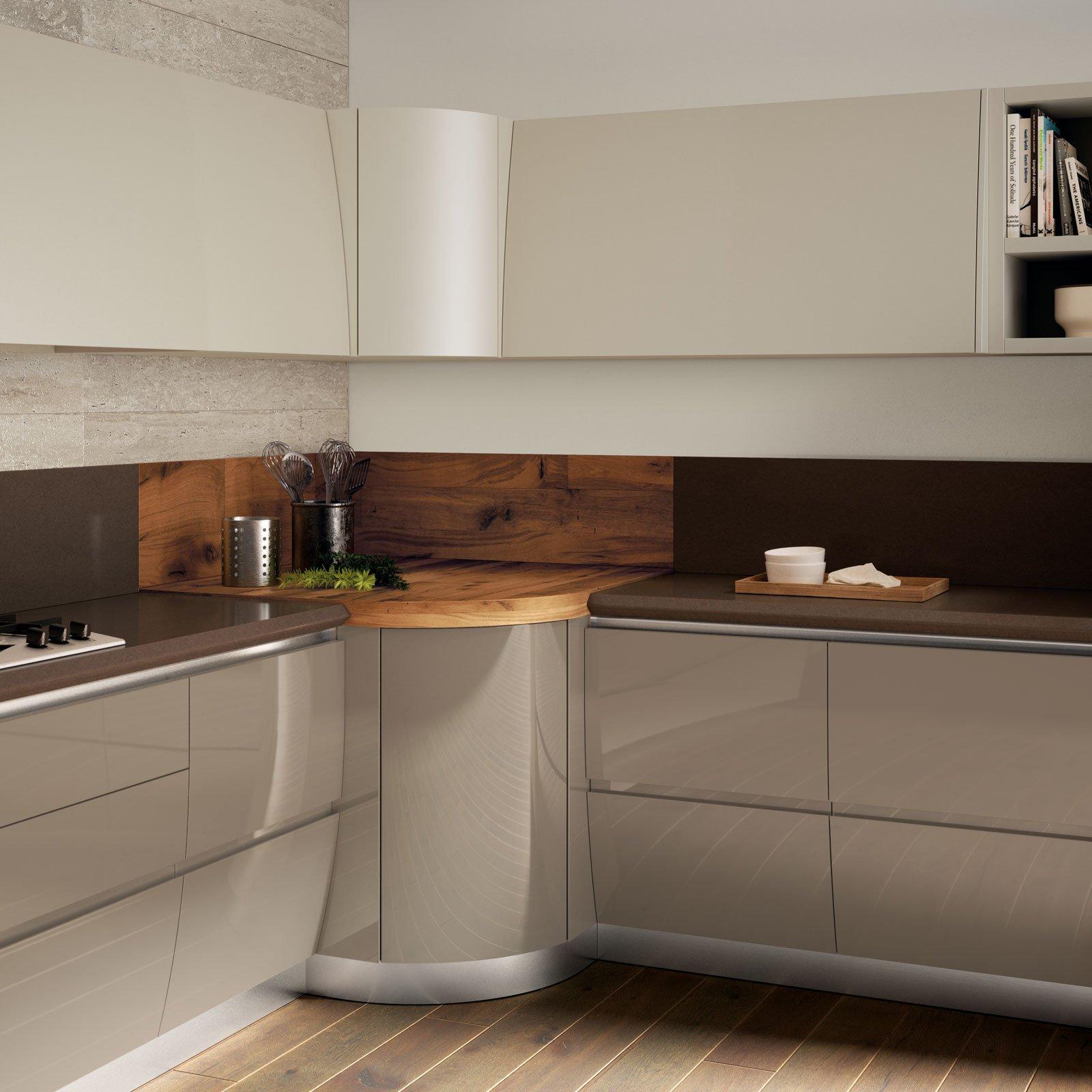 Sfruttare l 39 angolo in cucina cose di casa - Mobile cucina ad angolo ...