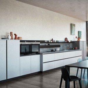 Cucina in melaminico economica resistente in tante - Cucine a ferro di cavallo ...