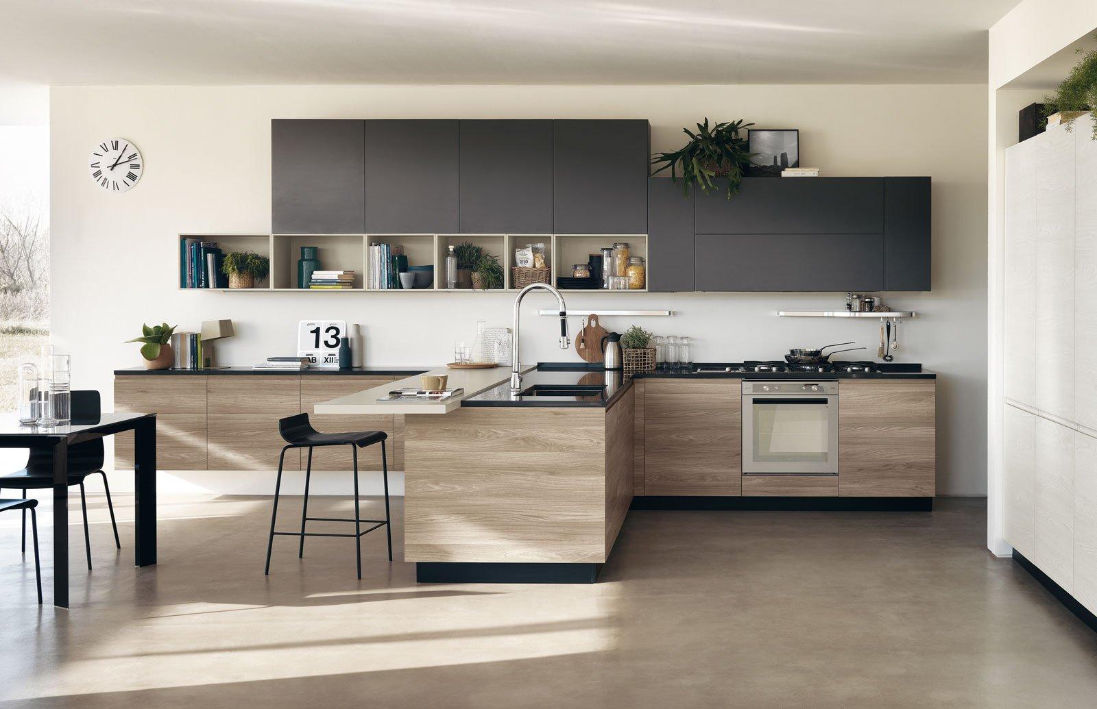 Cucina in melaminico economica resistente in tante versioni cose di casa - Foto cucine moderne ...
