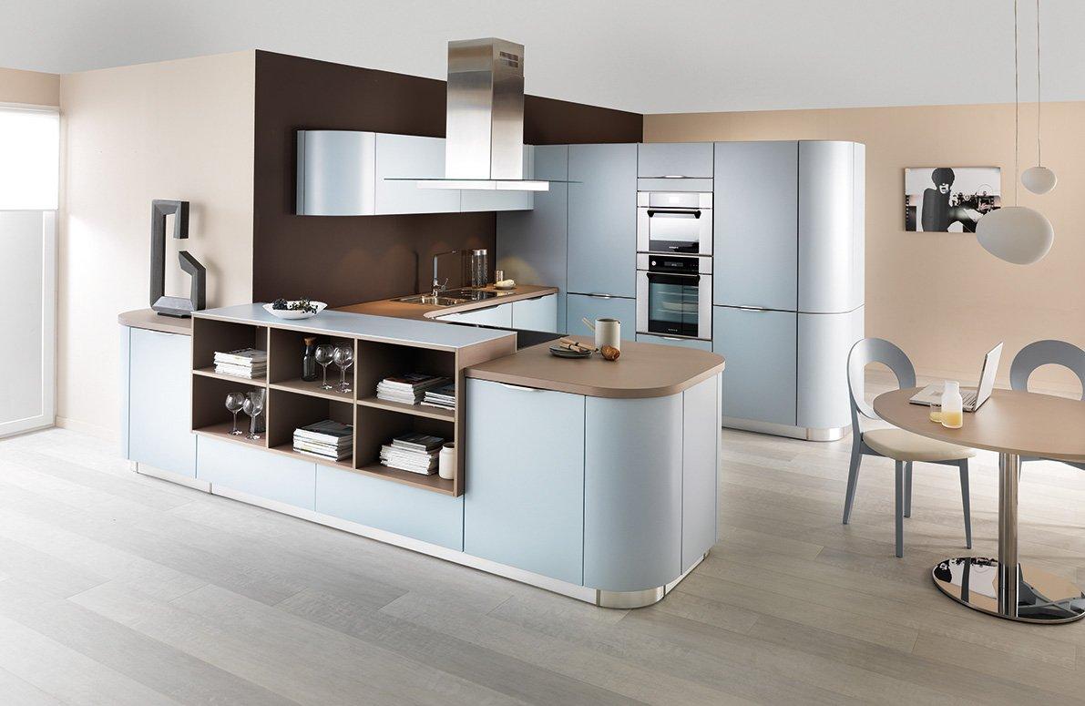 La cucina a u raccolta ergonomica funzionale cose di casa - Kallarp cucina ikea ...