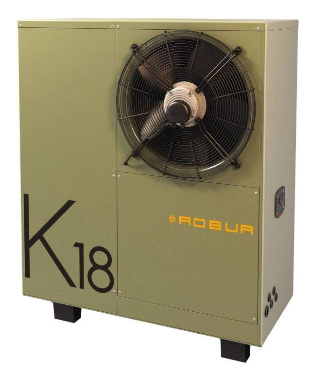 10 - I ROBUR Pompa di calore Robur K18_I