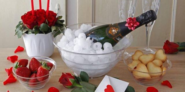 A San Valentino festeggiamo con una bella tavola