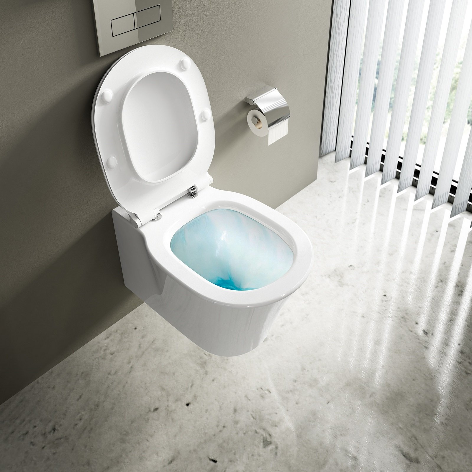 Water senza brida pulizia pi facile cose di casa for Comideal standard connect baignoire