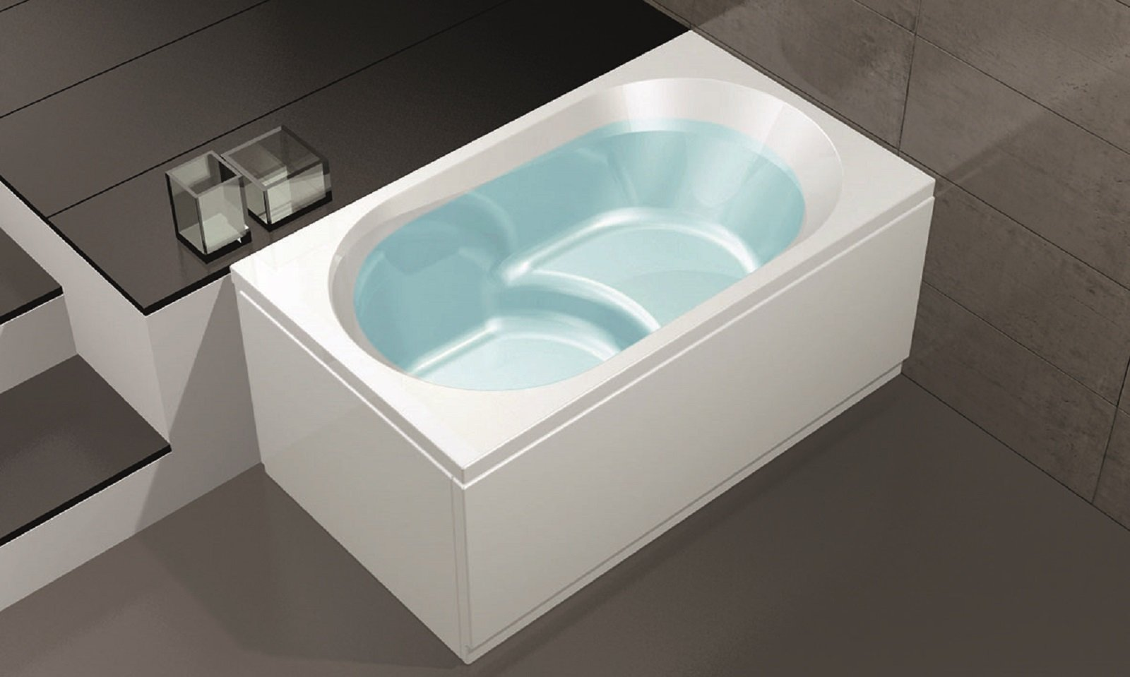 Vasca Da Bagno Piccola In Ceramica : Vasche piccole dalle dimensioni compatte e svariate misure e forme