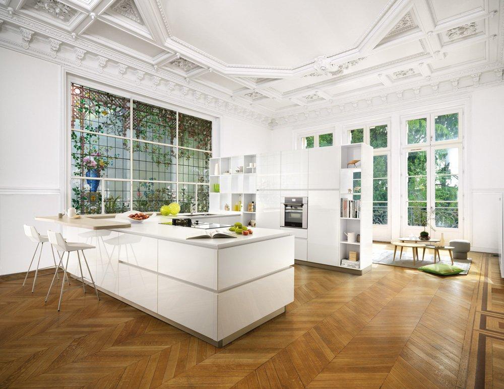 Cucine laccate bianche o colorate cose di casa for Cucine schmidt