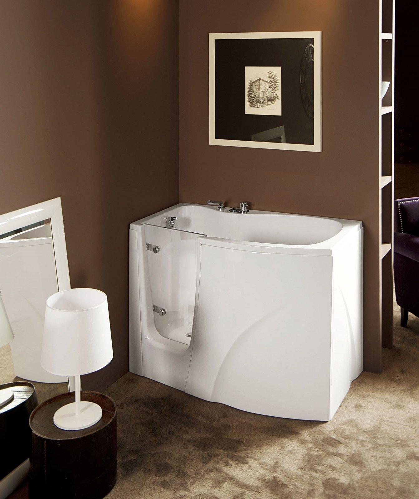 Vasche piccole dalle dimensioni compatte e svariate misure - Vasche da bagno piccole con seduta ...