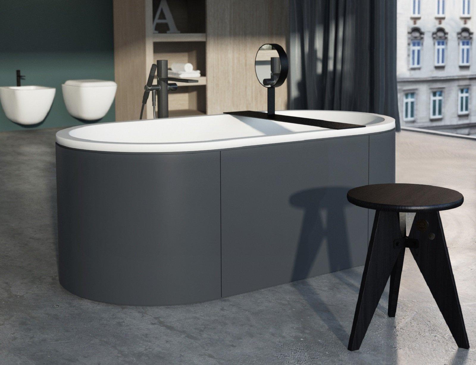 Vasca da bagno esterna i migliori modelli di vasche da for Vasca da bagno esterna