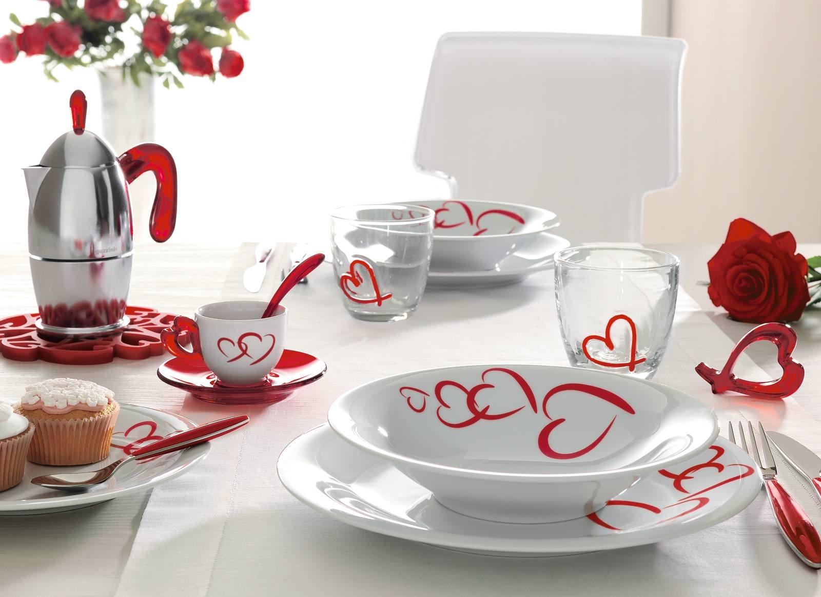 9 guzzini love tavola san valentino cose di casa - Tavola di san valentino ...