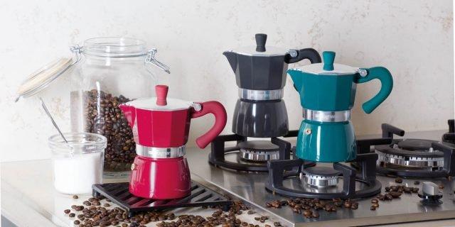 Caffettiere: novità ad Homi 2017