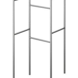 Il portasciugamani della serie Grundtal di Ikea è in acciaio inox. Misura L 65 x P 35 x H 85 cm e costa 11,99 euro.