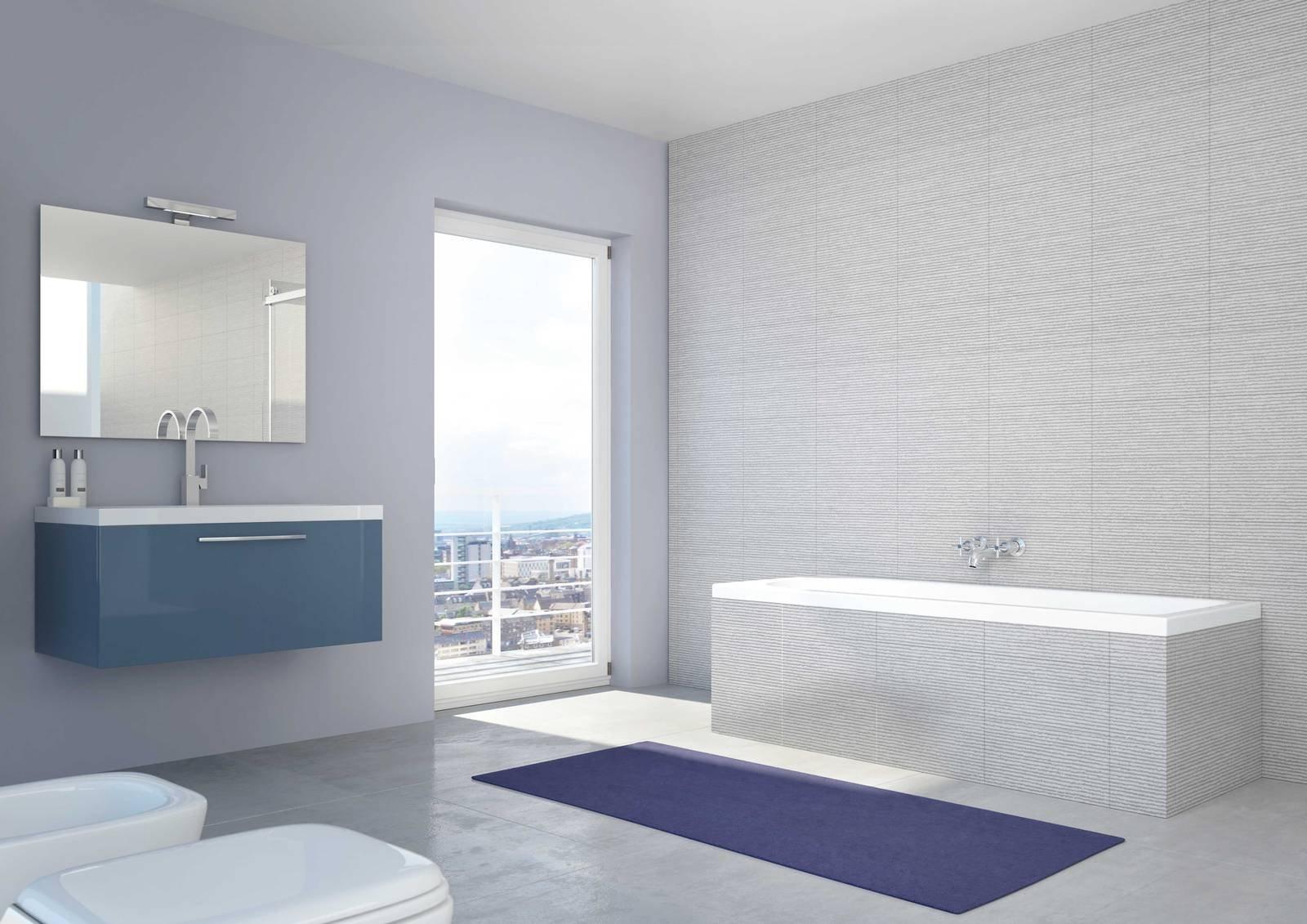 Ristrutturare il bagno in poco tempo cose di casa - Tende bagno leroy merlin ...
