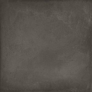 In gres porcellanato effetto cemento, il pavimento Rewind di Ragno è disponibile in sei colori e molti formati. In foto è proposto nel colore peltro, 60 x 60 cm.