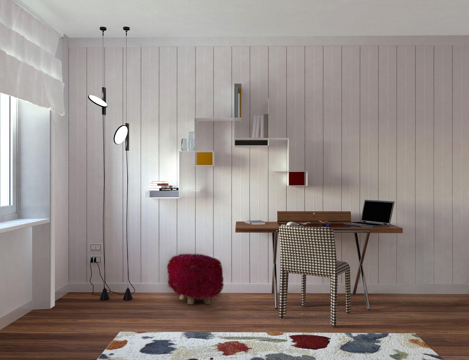 Camera Da Letto Con Boiserie : 165 mq per la casa depoca in stile contemporaneo. con porte di