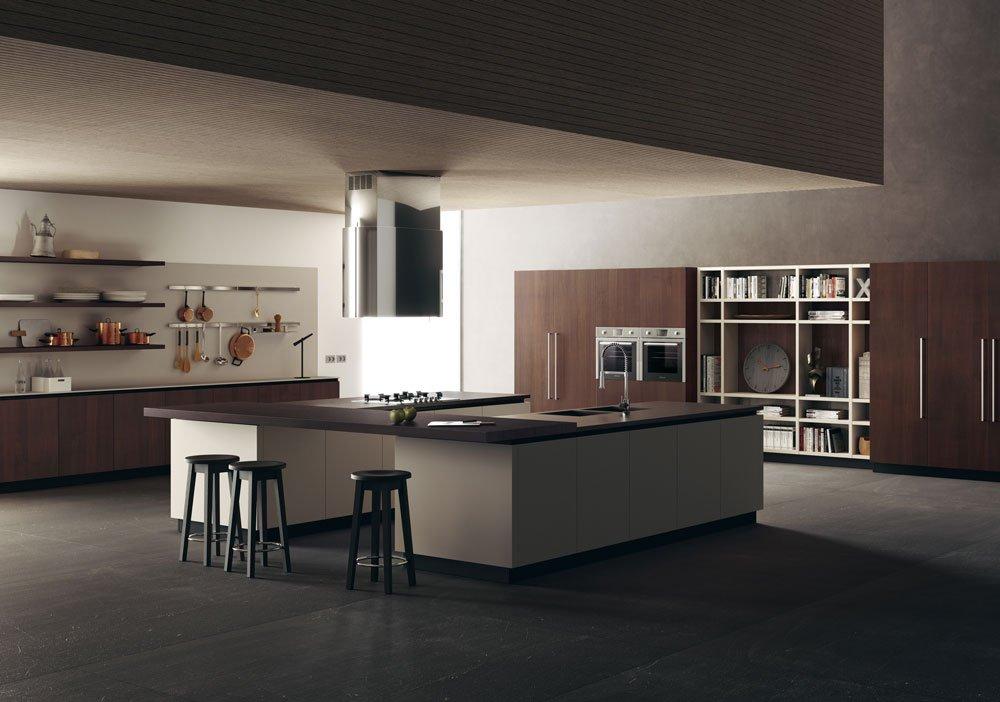 Cucine Nere Lucide. Elegant Matsel Liberamente Di Scavolini La ...