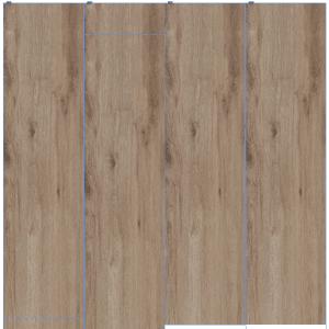 Texture legno per il pavimento in gres fine porcellanato colorato in massa Treverktrend di Marazzi. La superficie effetto rovere invecchiato è antiscivolo (R9). Esiste nei formati rettificati 37,5 x 150, 25 x 150, 19 x 150 cm.