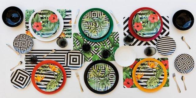 Piatti: colore e decor nei servizi tavola ad Homi 2017