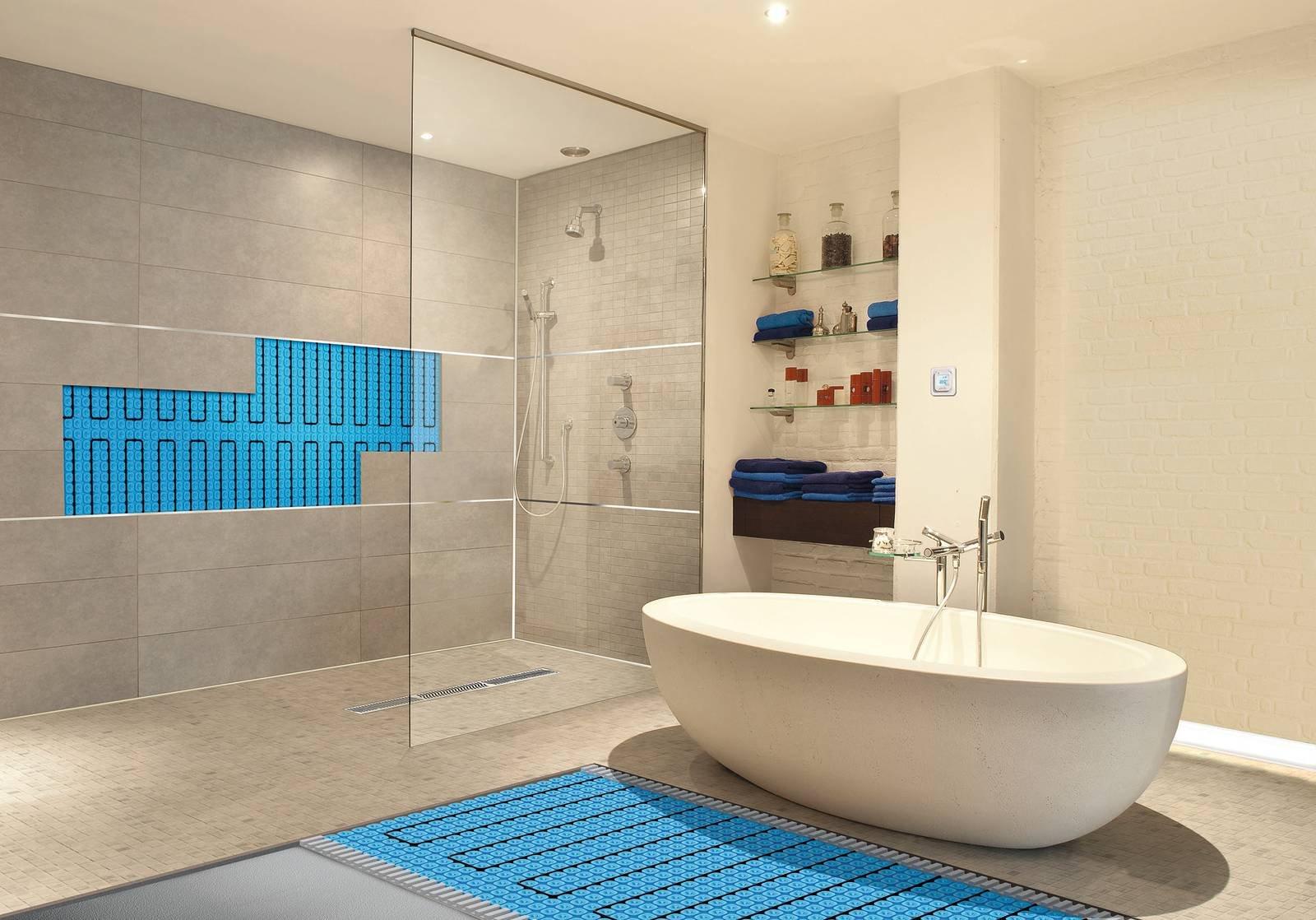 Riscaldamento elettrico a pavimento nuovi sistemi cose - Riscaldamento elettrico per bagno ...