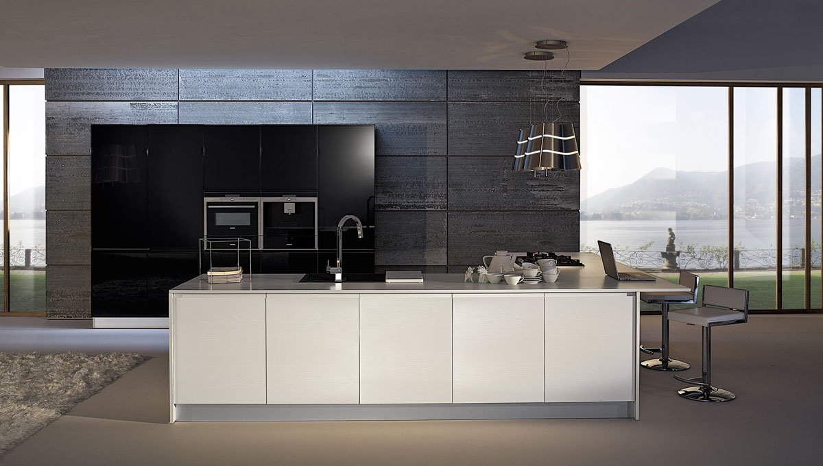 cucine laccate bianche o colorate cose di casa. Black Bedroom Furniture Sets. Home Design Ideas