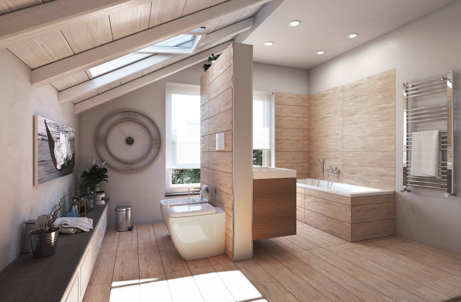 Ristrutturare il bagno in poco tempo cose di casa - La casa del bagno ...