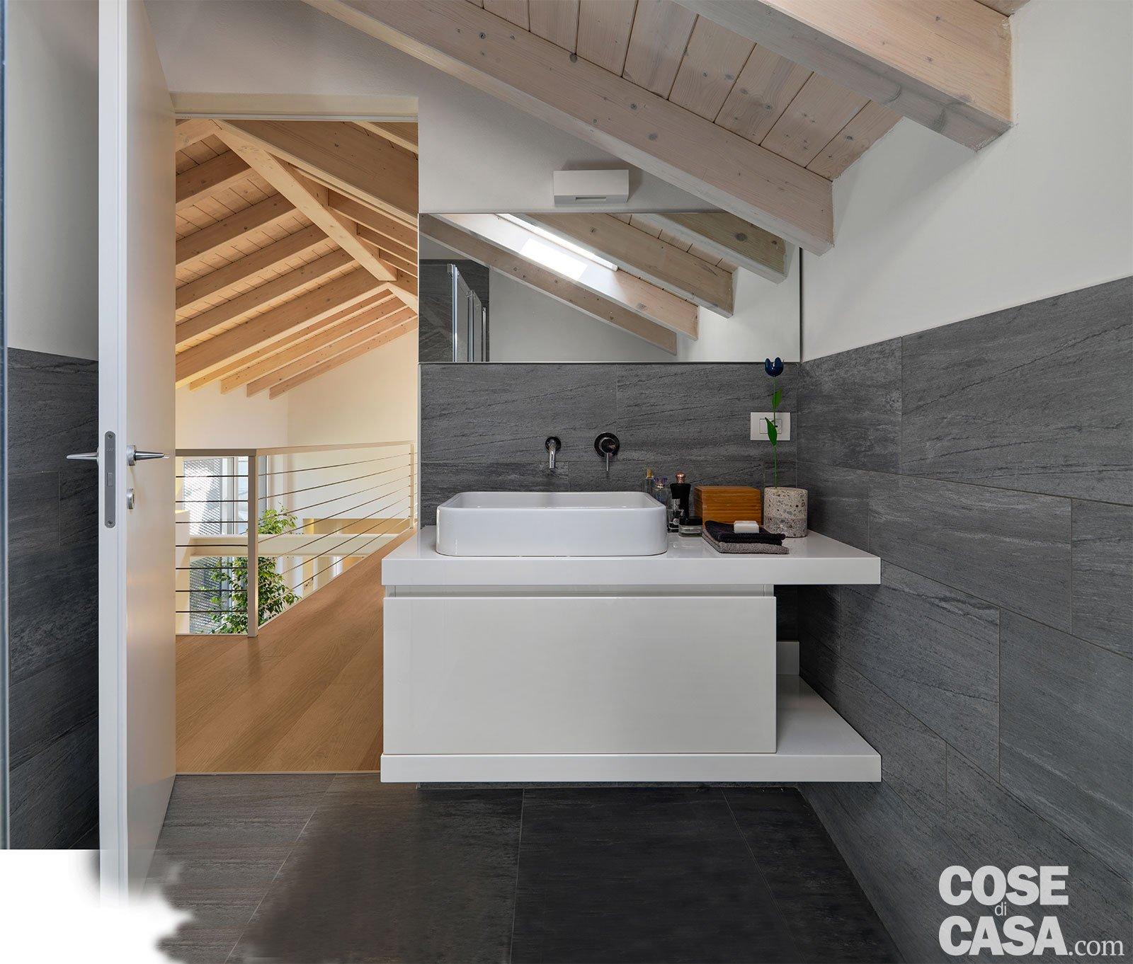 Soppalco In Legno Per Esterno loft: una casa sottotetto a doppia altezza - cose di casa