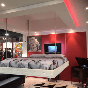 Letto Bed Up Down a scomparsa nel soffitto