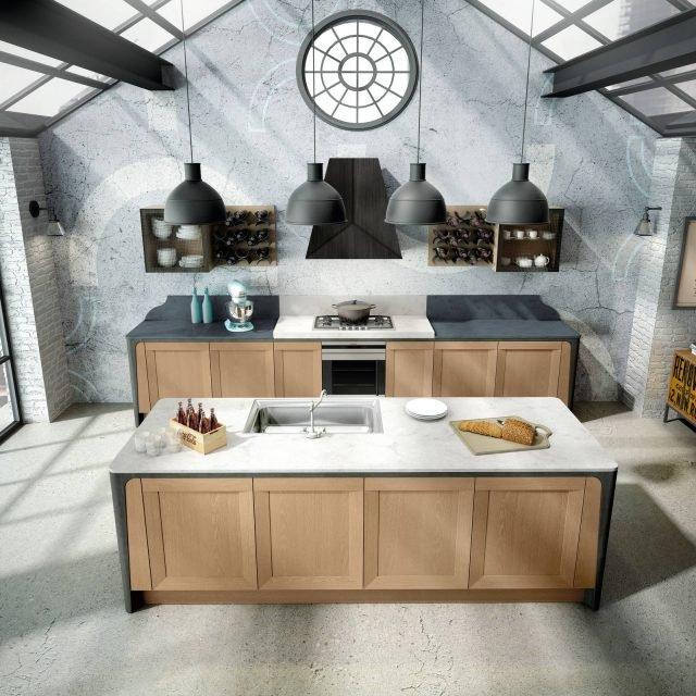 berloni MILANO VINTAGE cucine su 2 linee