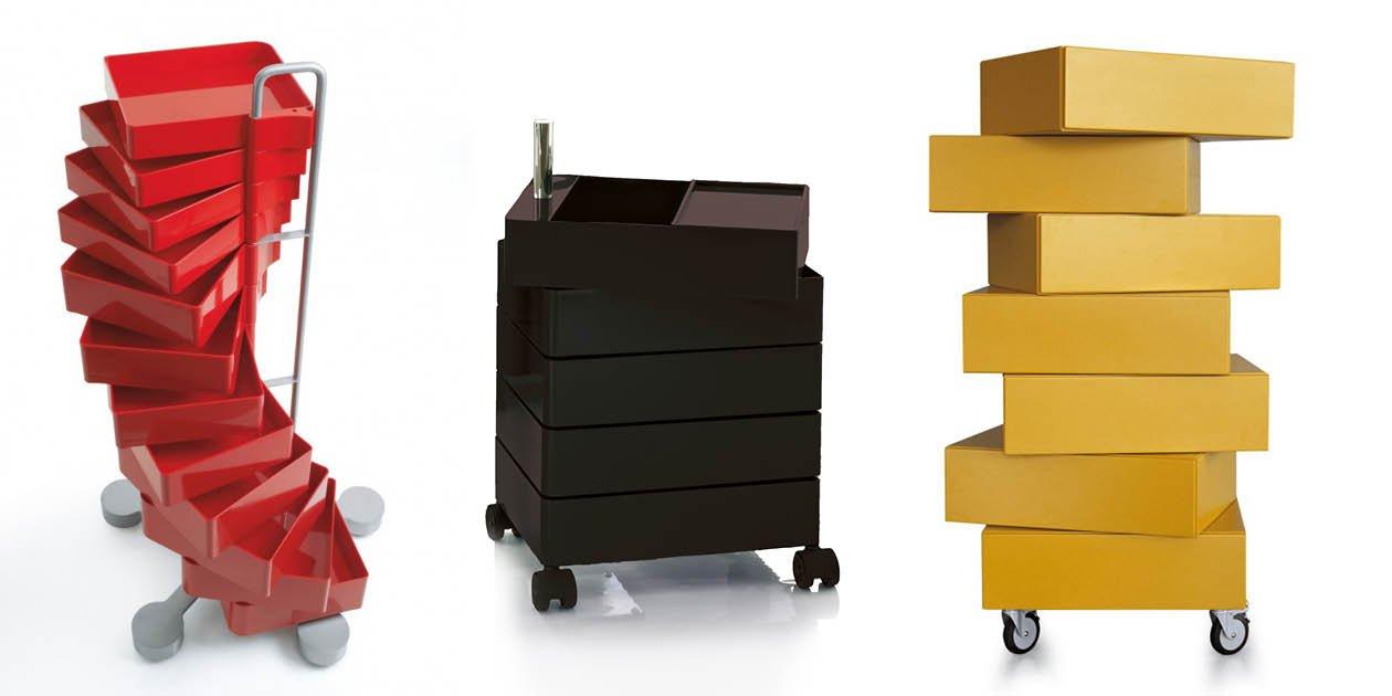 Cassettiere E Contenitori Di Plastica.Cassetti Rotanti Per Un Contenitore Piu Dinamico Cose Di Casa