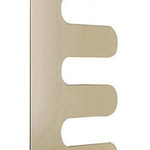 Solo 7 mm di spessore per il radiatore E-Sign di Cordivari in acciaio, dalla forma decorativa ed ergonomica. È proposto nella versione Control con valvola termostatica.