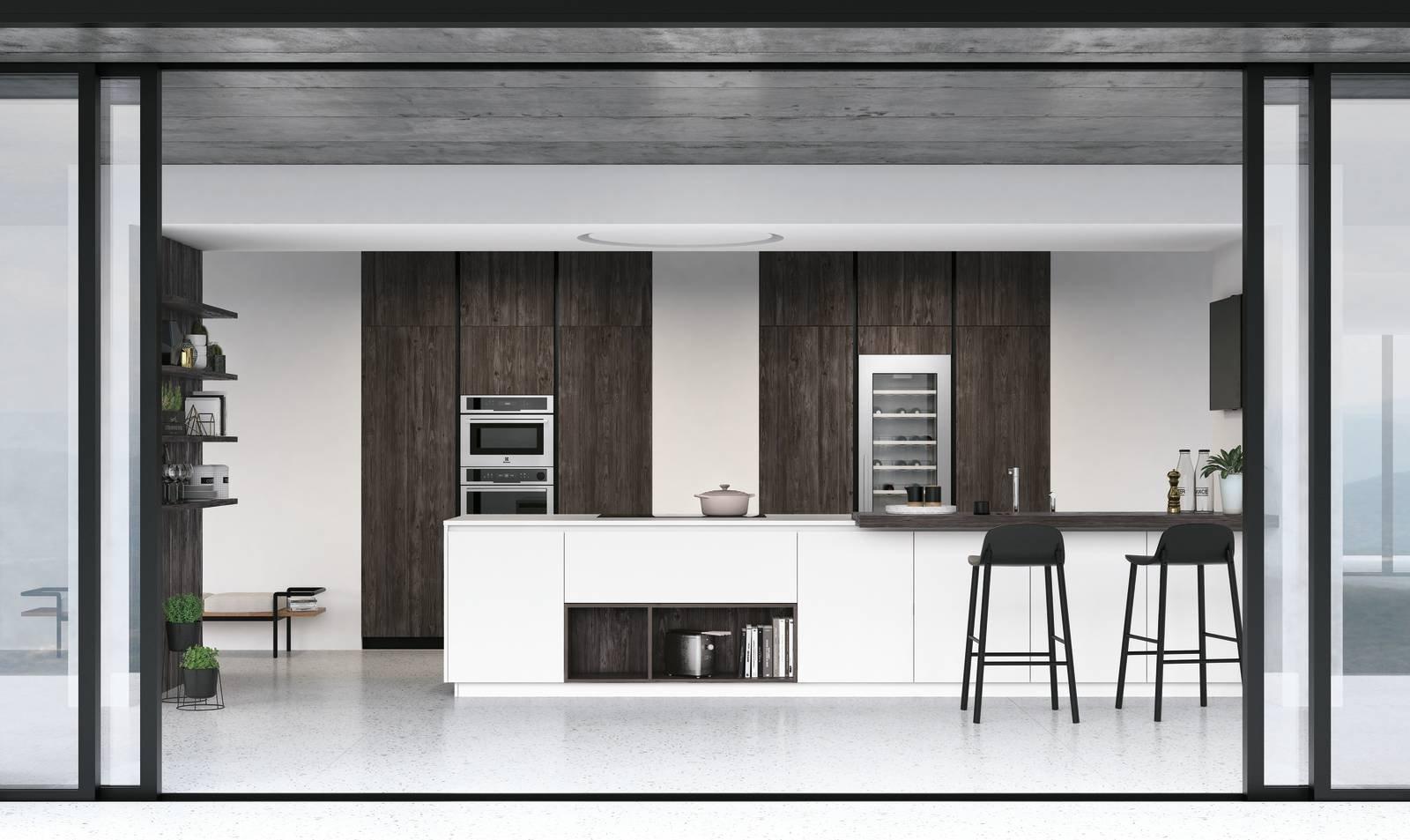 Cucina con l isola in genere divise in due blocchi cose di casa