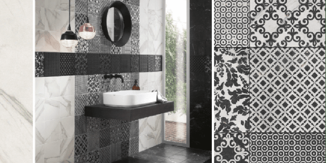 Piastrelle per il bagno 25 soluzioni e oltre 75 - Idee per piastrellare un bagno ...