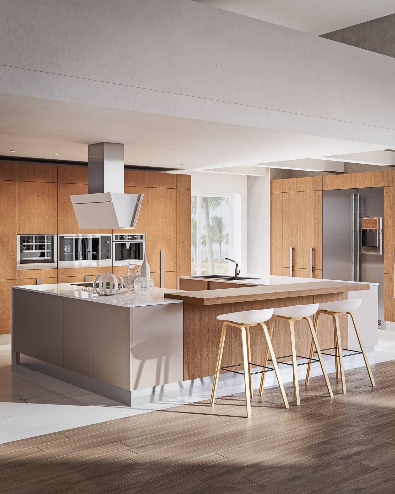 La cucina a u raccolta ergonomica funzionale cose di casa - Cucina a ferro di cavallo ...