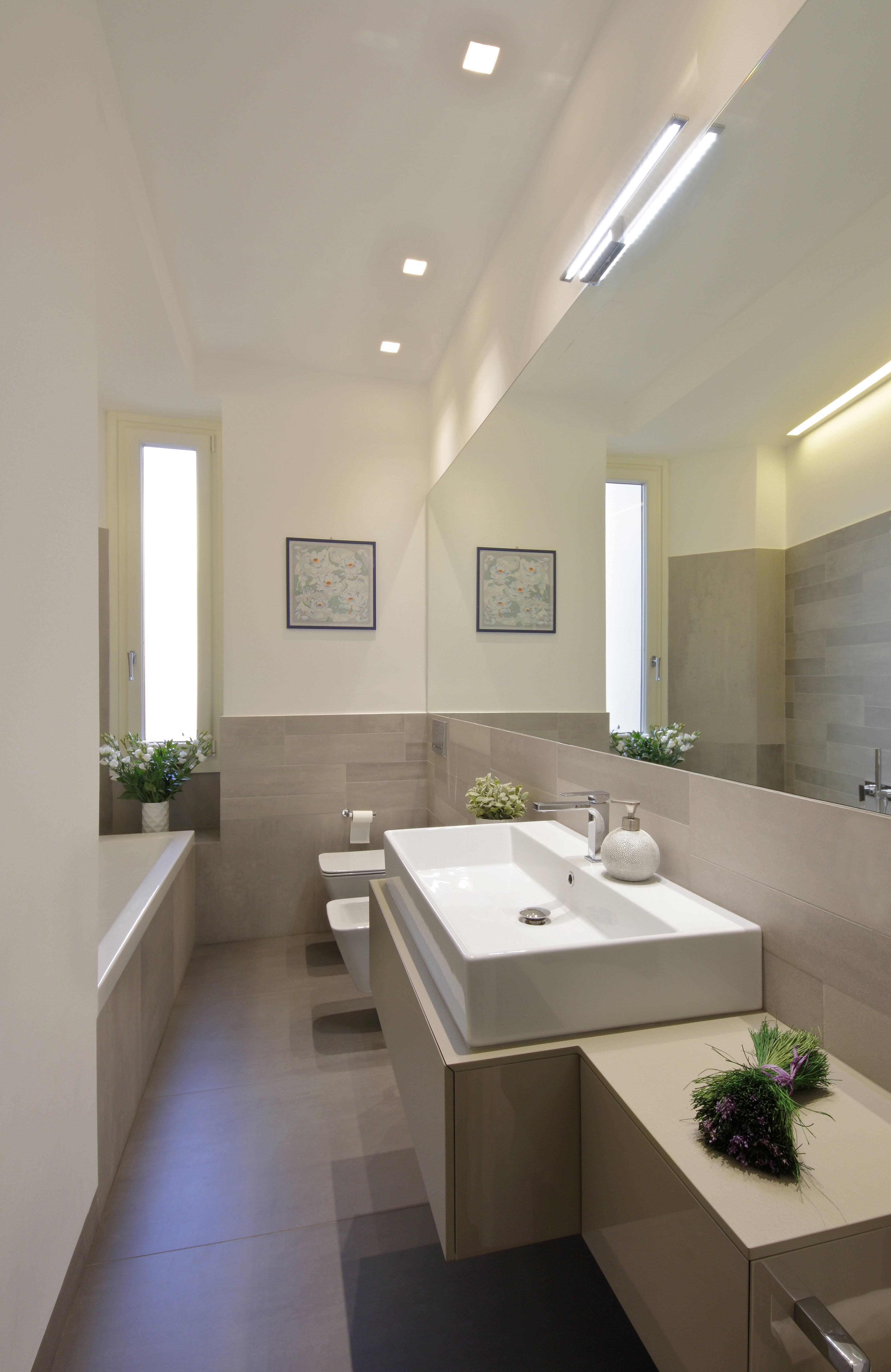 100 mq una casa a pianta irregolare ben risolta cose di casa - Termoarredo per bagno 6 mq ...