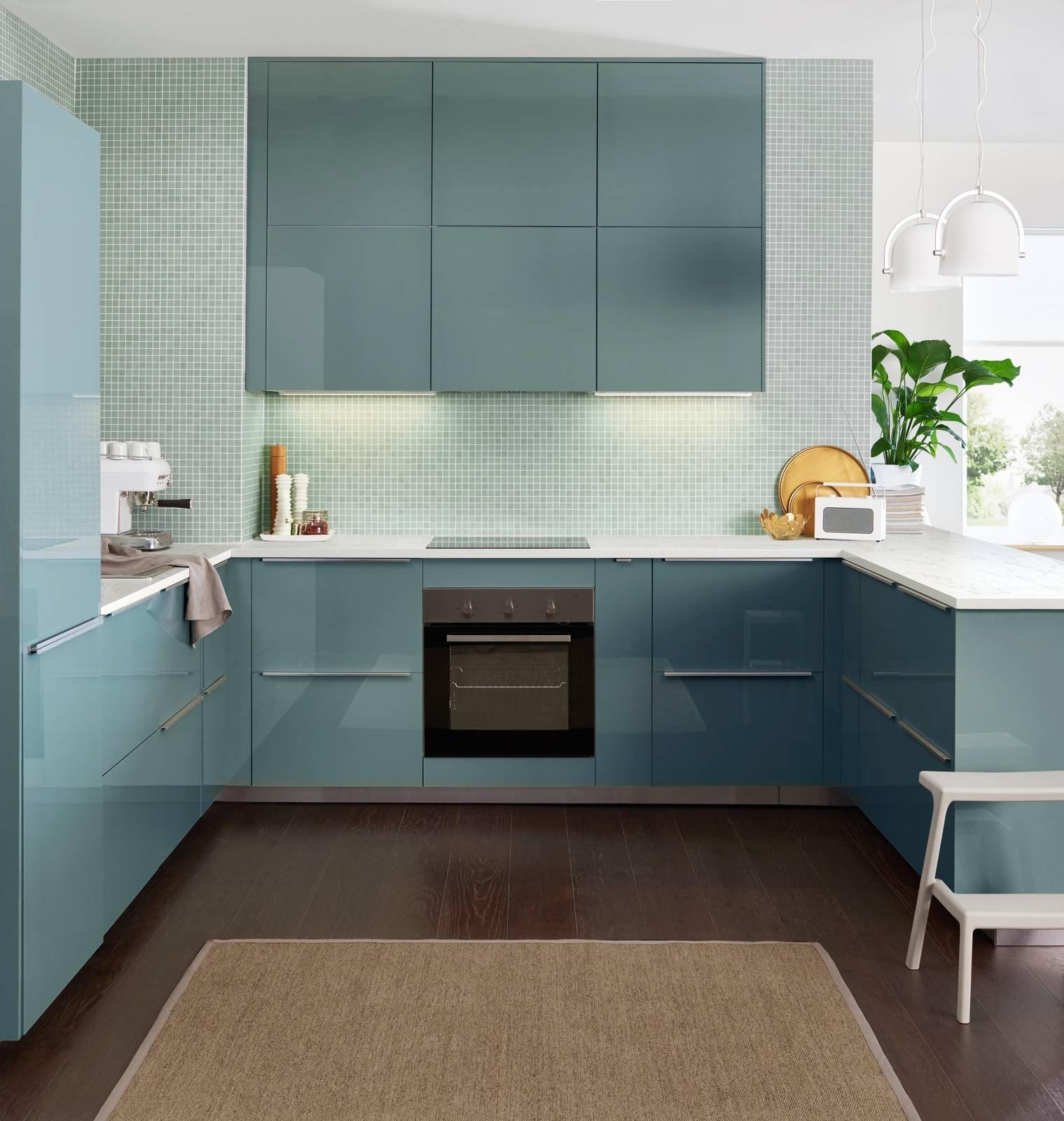 La cucina a u raccolta ergonomica funzionale cose di casa - Immagini cucine ikea ...