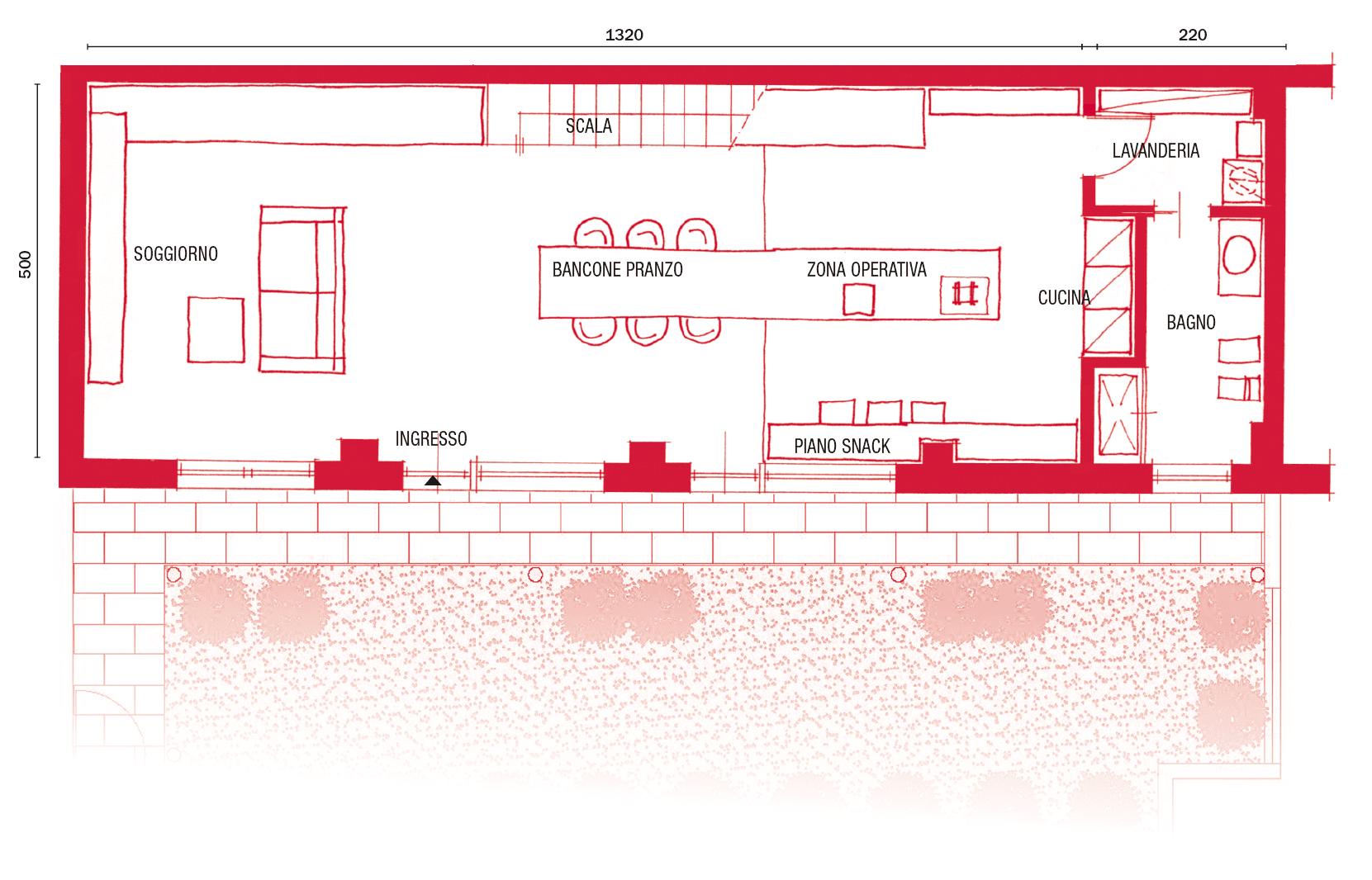 Vespaio Areato Altezza Minima loft: una casa sottotetto a doppia altezza - cose di casa