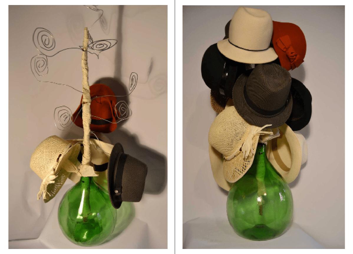 Arredare Con Le Damigiane portacappelli ad albero per riciclare il vetro - cose di casa